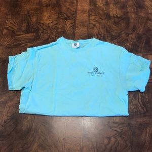 Blue Simple Southern T-shirt